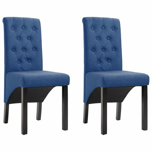 Sevro Upholstered Dining Chair (Set of 2) by Ebern Designs Ebern Designs
