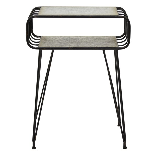 Berthiaume Metal End Table by Williston Forge