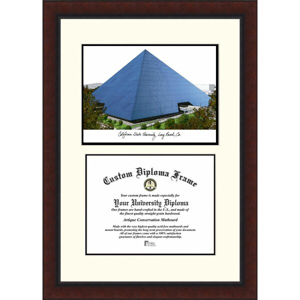 NCAA Cal State Long Beach Legacy Scholar Diploma Picture Frame by Campus Images