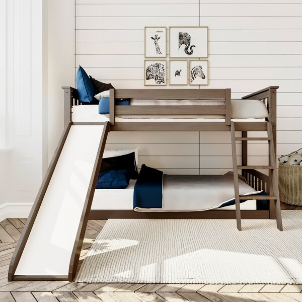 Jeniffer Twin Over Twin Bed By Harriet Bee by Harriet Bee 2020 Coupon