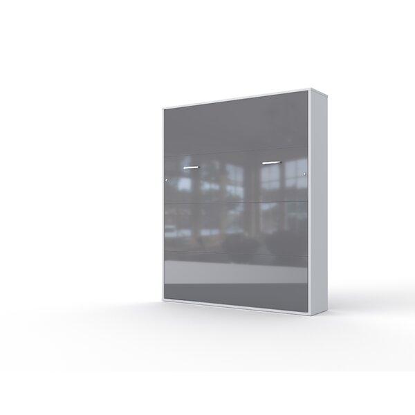 Motlie Invento Vertical Wall King Murphy Bed with Mattress by Orren Ellis Orren Ellis