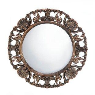 Zingz & Thingz Heirloom Round Wall Mirror