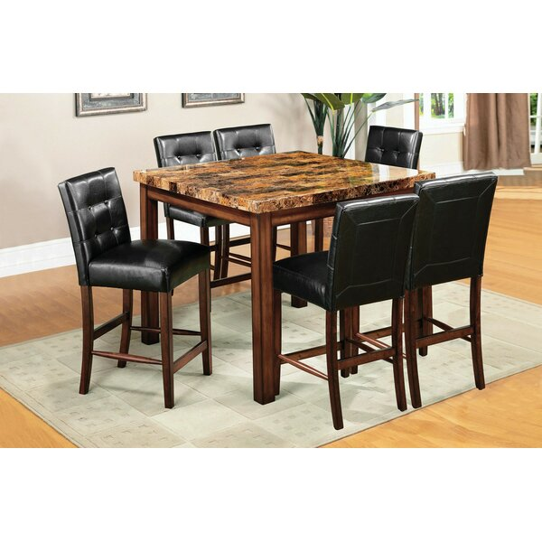 Husted 7 Piece Counter Height Dining Set by Red Barrel Studio