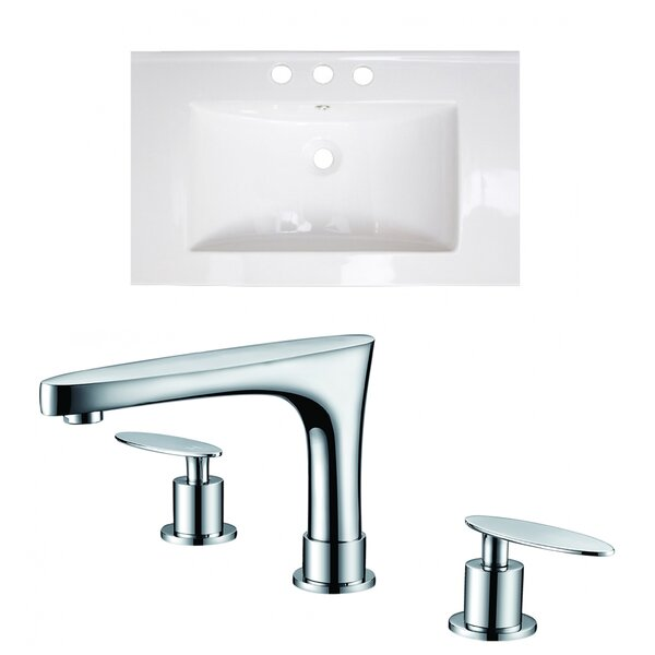 Single Bathroom Vanity Top