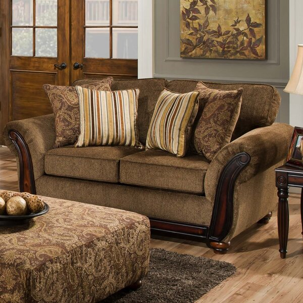Fairfax Loveseat by dCOR design