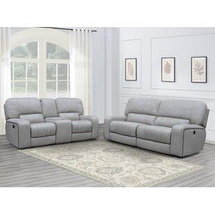 Aleverson 2 Piece Reclining Living Room Set by Latitude Run®