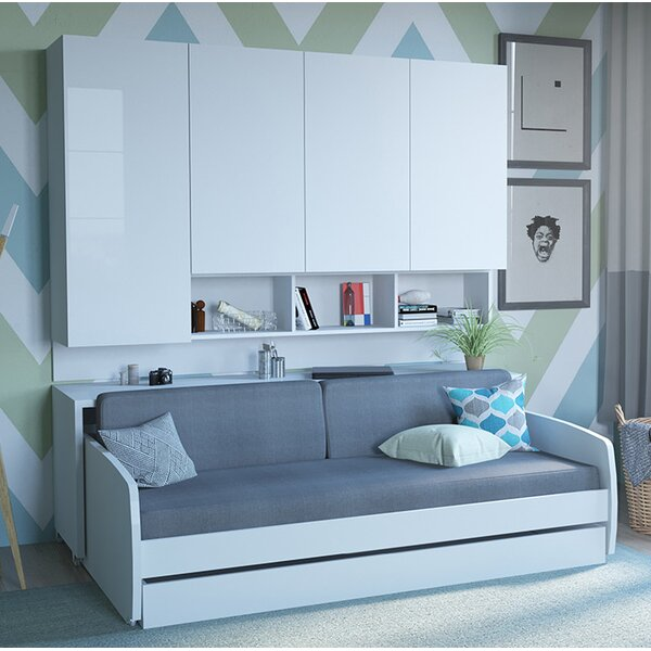 Rincon Compact Full/Double Murphy Bed by Brayden Studio Brayden Studio