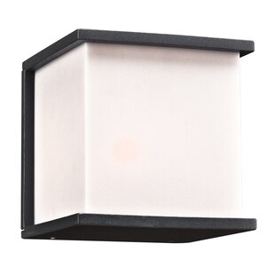 Best Reviews Carpentier 1-Light Outdoor Flush Mount By Wrought Studio