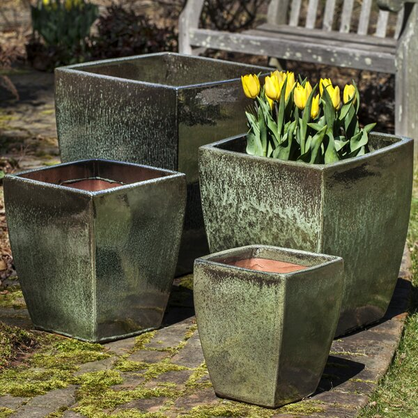4-Piece Pot Planter Set by Campania International