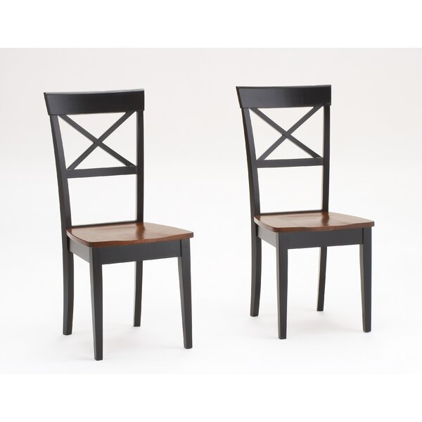 Waldron Solid Wood Dining Chair (Set of 2) by Charlton Home