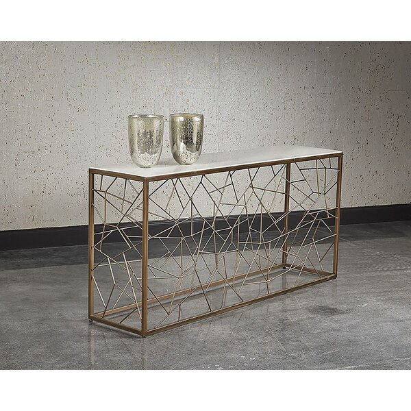Marchmont Marble Console Table