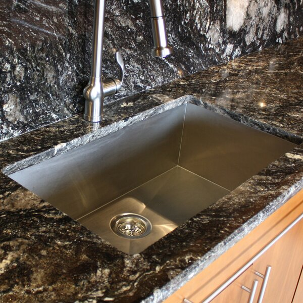 Pro Seties 32 L x 19 W Undermount Kitchen Sink by Nantucket Sinks