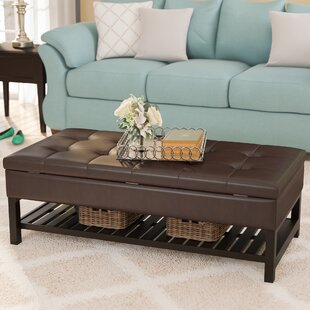 Padded Coffee Table Ottoman | Wayfair