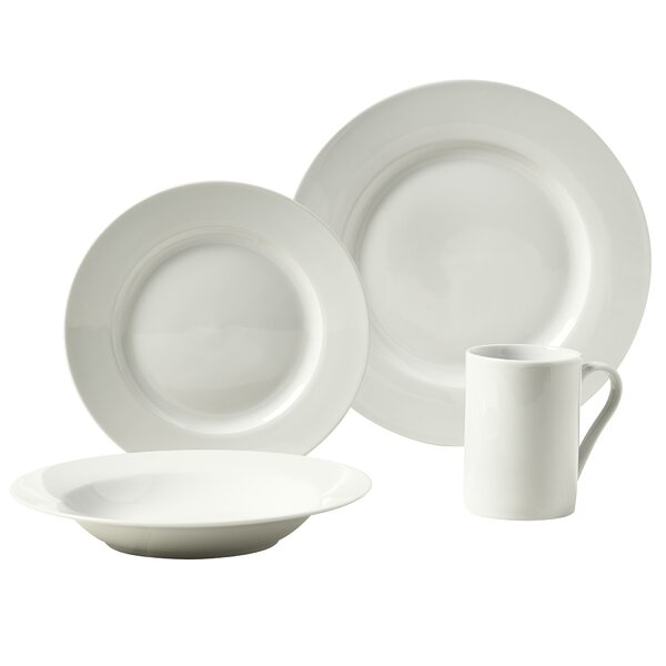 Parker 16 Piece Dinnerware Set, Service for 4 by Tabletops Gallery
