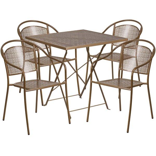 Jeffry 5 Piece Dining Set by Zipcode Design