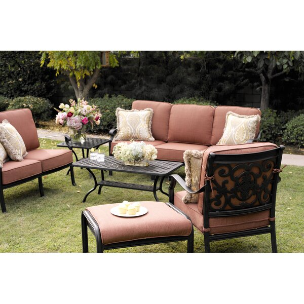 Mccraney 6 Piece Sofa Set with Cushions by Astoria Grand