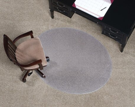 Designer Beveled Edge Chair Mat by ES Robbins Corporation