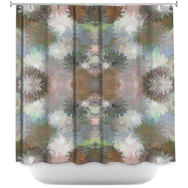 Daisy Blush 1 Autumn Shower Curtain by East Urban Home