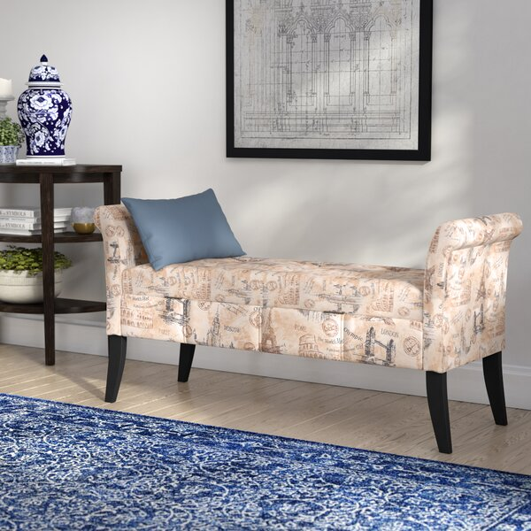 Babineaux Upholstered Storage Bench by Alcott Hill