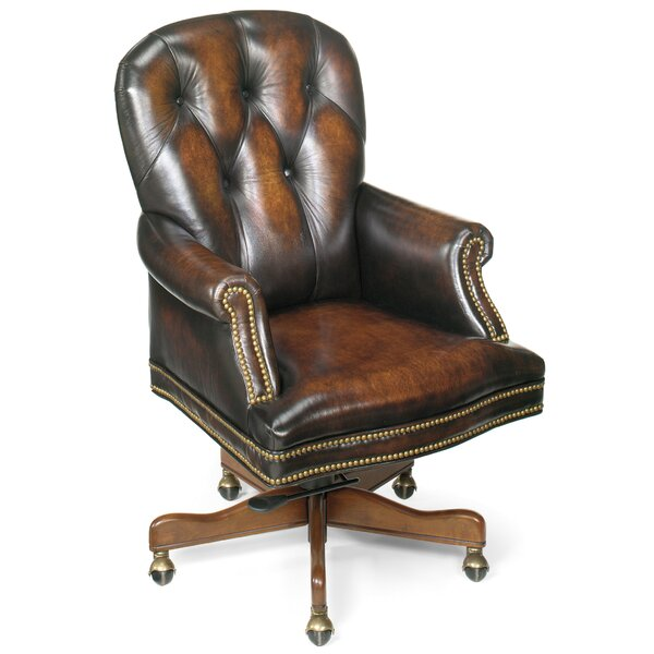 James River Leather Desk Chair by Hooker Furniture