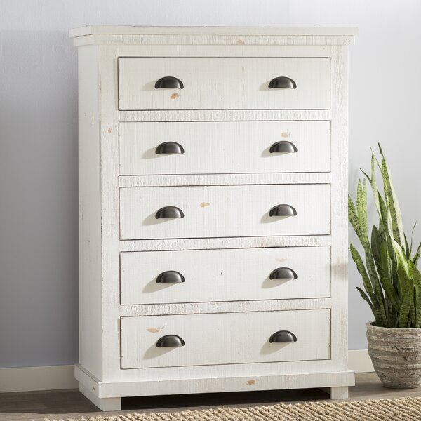 Castagnier 5 Drawer Chest By Lark Manor by Lark Manor Today Sale Only