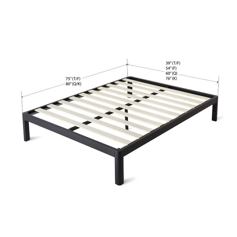 Alwyn Home Wood Slat Bed Frame & Reviews | Wayfair