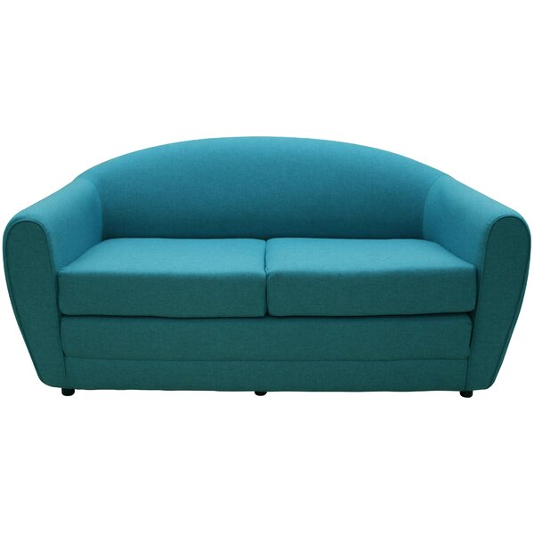 Trendy Modern Wurley Sleeper Loveseat by Wade Logan by Wade Logan