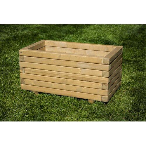 Buckman Wooden Planter Box Freeport Park