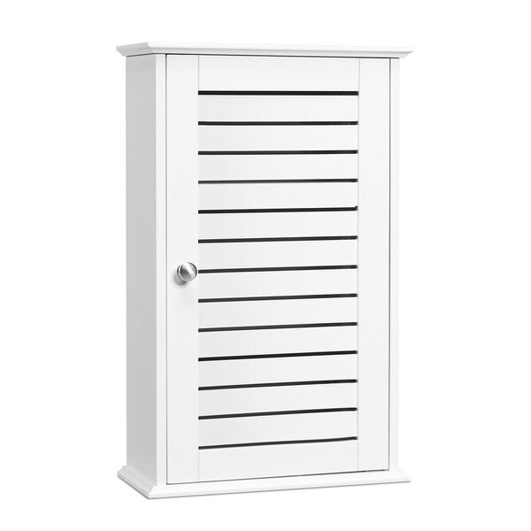 Pafford 14 W x 22 H x 6 D Free-Standing Bathroom Cabinet