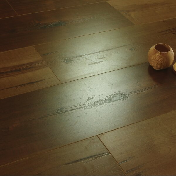 Legno 8 x 48 x 12mm Laminate Flooring in Atlas Taupe by Patina Design