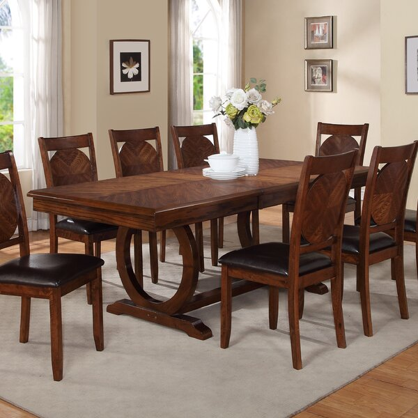 Lovely World Menagerie Kapoor Extendable Dining Table U0026 Reviews   Wayfair Photo