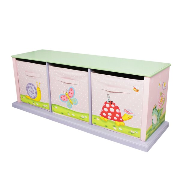 Magic Garden Portable 3 Compartment Cubby by Fanta