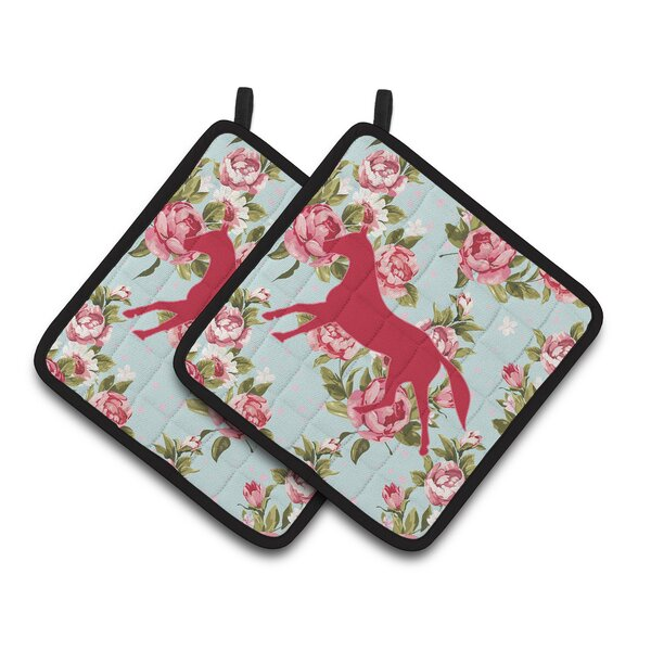 Horse Potholder (Set of 2) by Caroline's Treasures