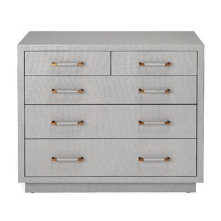 Comparison Taylor 5 Drawer Accent Chest By Interlude