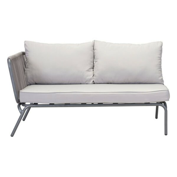 Lanz Left Facing Loveseat by Bungalow Rose