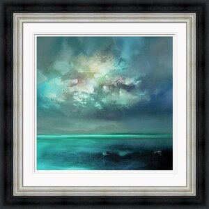 'Isle of Skye Emerges' by Scott Naismith Framed Oil Painting Print