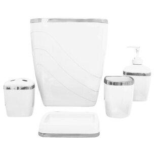 Price comparison Wayfair Basics Bathroom Accessory Set (Set of 5) ByWayfair Basics™