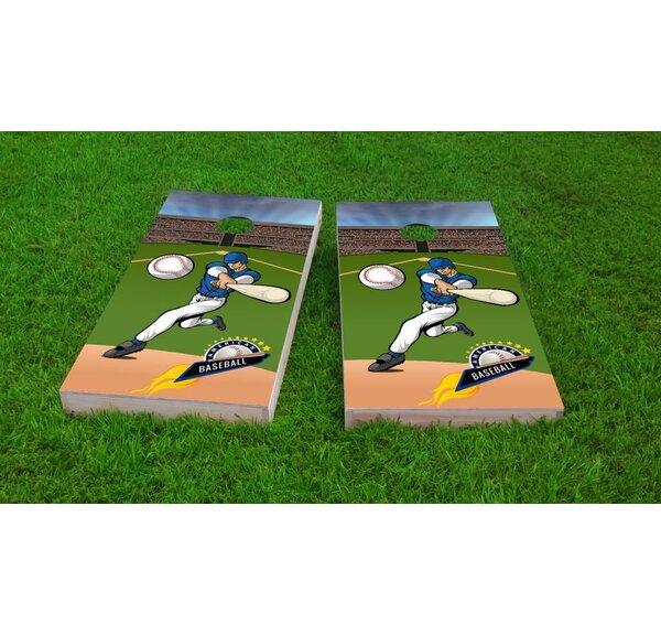 Baseball Light Weight Cornhole Game Set by Custom Cornhole Boards