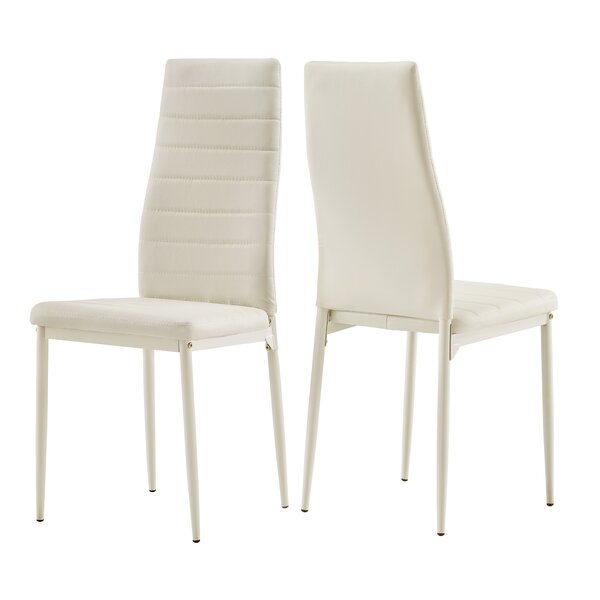 Freddie Upholstered Dining Chair (Set of 2) by Wade Logan