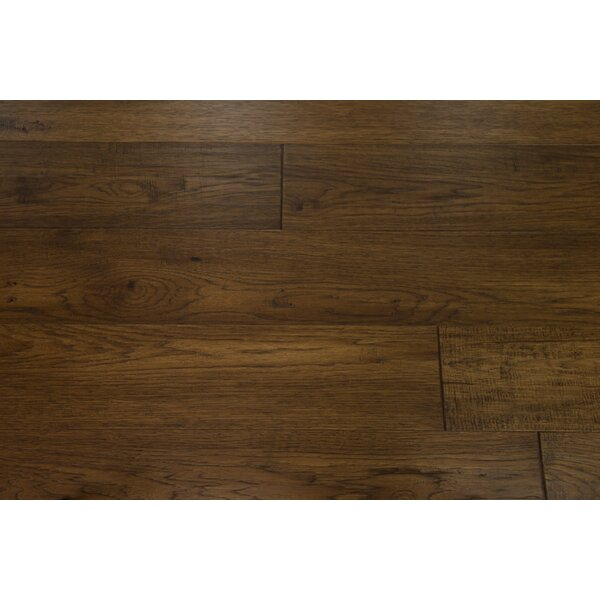 Copenhagen 7-1/2 Engineered Hickory Hardwood Flooring in Anise by Branton Flooring Collection