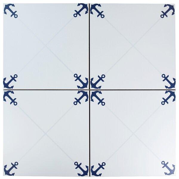 Silvius 12.38 x 12.38 Ceramic Field Tile by EliteTile