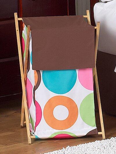 Deco Dot Laundry Hamper By Sweet Jojo Designs.