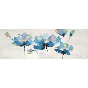 Trio by Claudia Painting on Wrapped Canvas by Hobbitholeco.