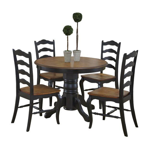 Woodacre 5 Piece Dining Set by August Grove