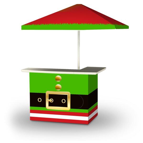 Zaytoune Christmas Elf 2-Piece Home Bar Set by East Urban Home
