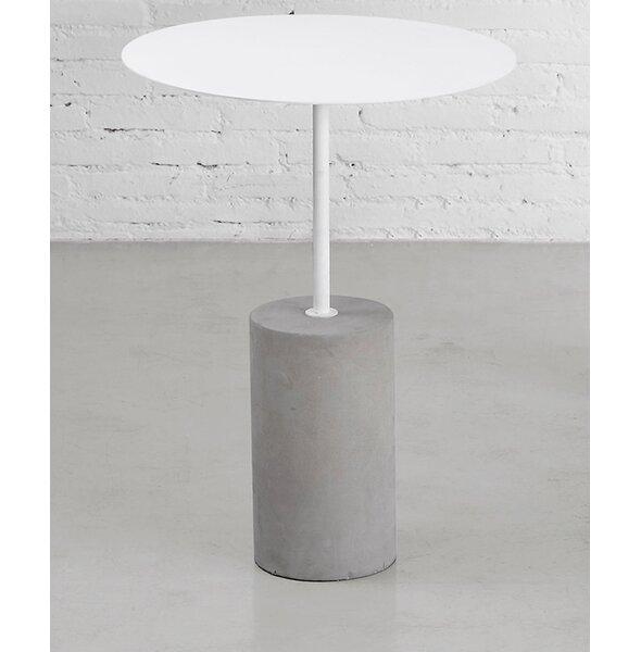 Pier Pedestal End Table By M.a.d. Furniture