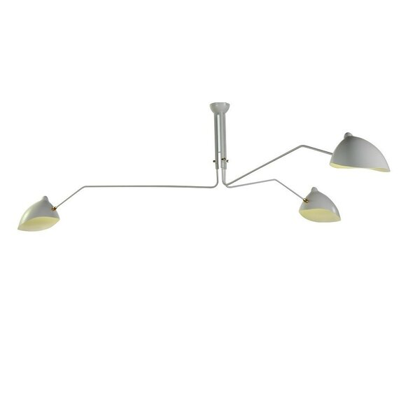 Darko 3 - Light Shaded Classic / Traditional LED Chandelier By Brayden Studio