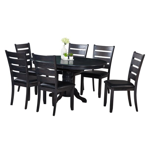 Maryrose 7 Piece Dining Set with Butterfly Leaf Table by Darby Home Co
