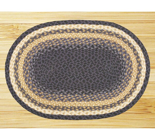 Braided Blue Area Rug by Earth Rugs