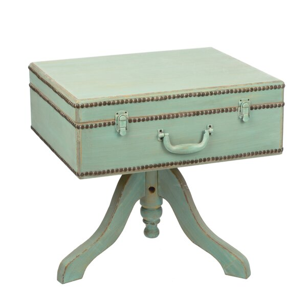 Lamont Suitcase End Table by Ophelia & Co.